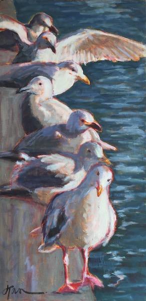 Recently Sold: Bay gulls